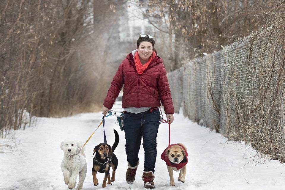 Erin CEO Ruffin' It Dog Walking